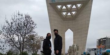 روایت زوج جوانی که با پول سفرشان، شهر را ضدعفونی کردند+فیلم