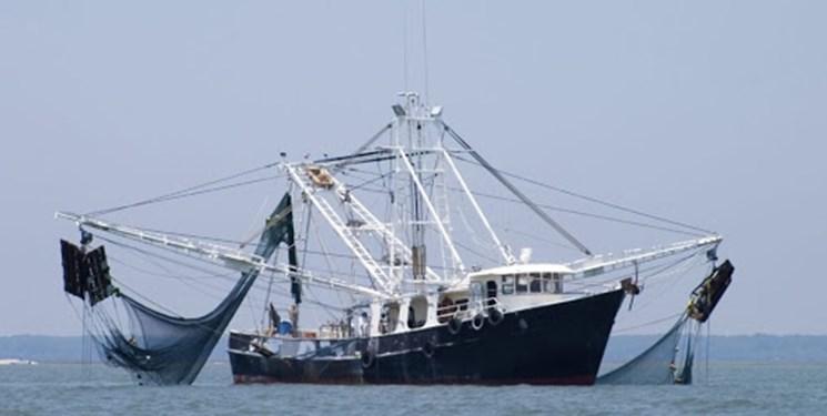 توقیف یک کشتی صید ترال در آبهای «جاسک»