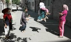 «کَشکا» بازی دختر بچههای مازندرانی