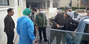 اهدای ۱۲۵۰ ماسک N95 به کادر درمانی شاهرود+ تصاویر