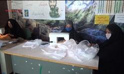 اقدام جهادی مؤسسه آبشار عاطفهها با تولید 6 هزار ماسک رایگان در دیشموک