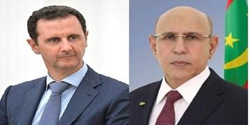 رئیسجمهور موریتانی سالروز استقلال سوریه را به بشار اسد تبریک گفت