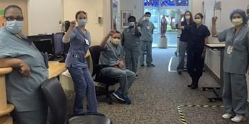 تعلیق پرستاران بیمارستانی در کالیفرنیا به دلیل درخواست برای ماسک