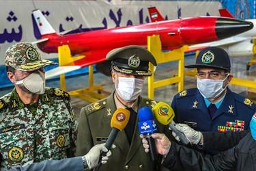 مراسم تحویل دهی انبوه هواپیماهای بدون سرنشین چند منظوره