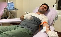 عاشقانههای مردی که پای ثابت اهدای خون است+عکس