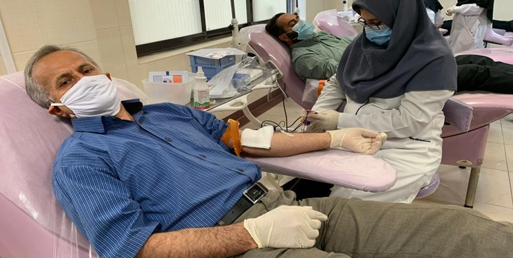 کاهش اهداکنندگان خون در روزهای سخت کرونایی