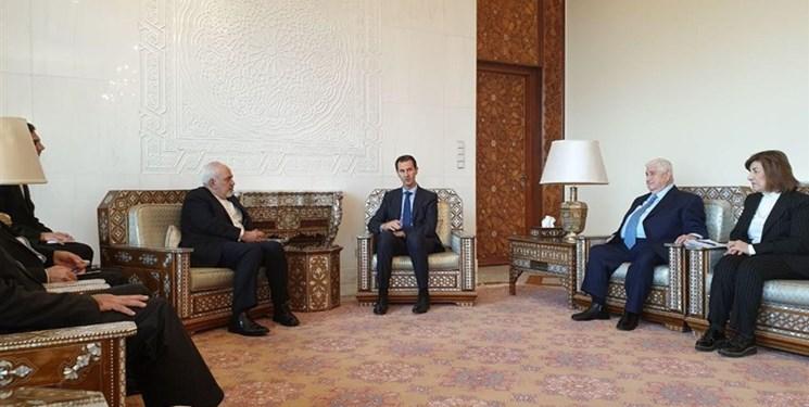 تاکید بشار اسد بر نقش بیبدیل سپهبد شهید سلیمانی در مبارزه با تروریسم در سوریه