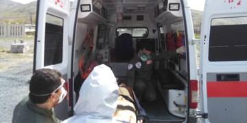 یک مصدوم بر اثر زلزله ظهر امروز در بومهن