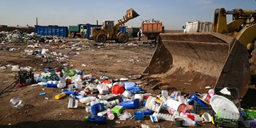 پاکسازی کامل ایستگاه موقت جمعآوری زباله در پارسآباد