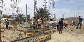 جاری شدن امید در روستاهای سیلزده جاسک/ پیشرفت خوب ساخت ۲۲۰ واحد مسکونی