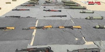 کشف تجهیزات نظامی ساخت آمریکا و غرب در مناطق حضور تروریستها در سوریه