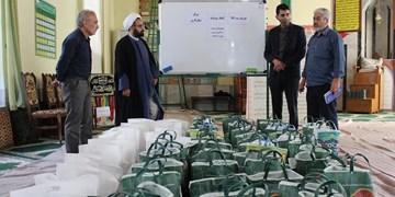 مساجد همچنان پناهگاه مردم است/ توزیع بستههای معیشتی محلهور در مساجد گنبدکاووس