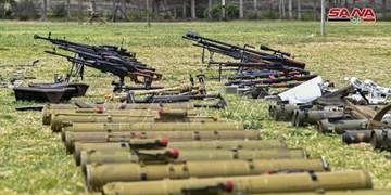 کشف تجهیزات جنگی آمریکایی و غربی در مقر تروریستها در سوریه +فیلم