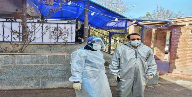 روایت زوج طلبه جهادگر در قلب قرنطینه/ از نظافت بیماران تا تی کشیدن راهروهای بیمارستان