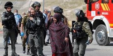 صهیونیستها مادر شهید فلسطینی را دستگیر کردند