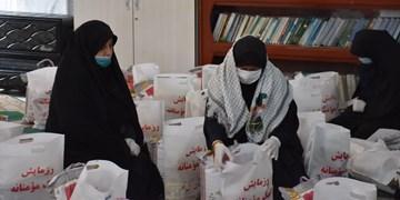 توزیع 17 هزار بسته معیشتی بین نیازمندان گلستان/ فعالیت 300 گروه جهادی قرارگاه خدمترسانی