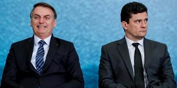 رویترز: وزیر دادگستری برزیل به دلیل اختلاف با بولسونارو استعفا میکند