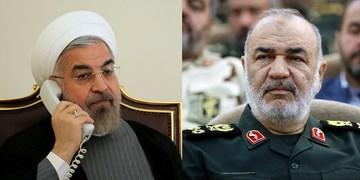 رئیسجمهور: پرتاب ماهواره «نور» یک موفقیت ارزشمند ملی است/ سردار سلامی: سپاه تا رفع کامل کرونا کنار مردم است