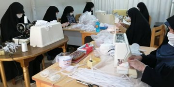 نقشآفرینی بانوان در بحران کرونا| از فعالیت ۳۱ کارگاه تولیدی تا دوخت ۷۵۰ هزار اقلام بهداشتی
