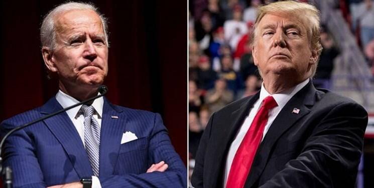 انتخابات آمریکا؛ نظرسنجی | بایدن در دو ایالت مهم از ترامپ پیش است