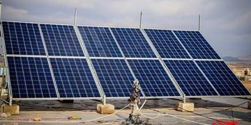 افتتاح   ۵۰۰ پنل خورشیدی در فارس