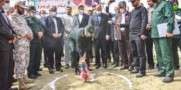 آغاز عملیات اجرایی یکی از مصوبات سفر سردار سلامی به خراسان شمالی