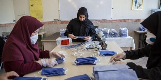 «هنرستانها» کانون جهش تولید در کشورند/ تولید 3.5 میلیون ماسک توسط دانشآموزان
