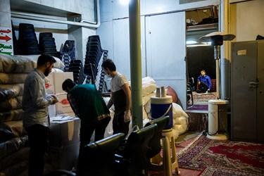 حضور محمدحسین پویانفر مداح هیئت ریحانهالنبی در مسجد گیاهی