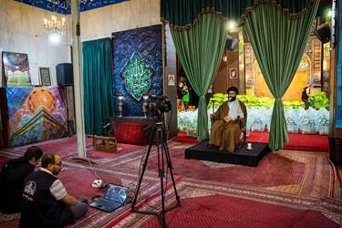 برگزاری مراسم مجازی با سخنرانی حجت الاسلام سید مرتضی شجاعی