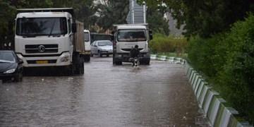 مصالح و نخالههای ساختمانی، عامل اصلی آبگرفتگی معابر در هنگام بارندگی