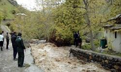 وقوع سیل بیسابقه در ساوجبلاغ/ بررسی خرابیهای طوفان در البرز