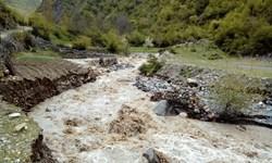 فیلم| تخریب جاده قدیم چالوس ـ مرزن آباد
