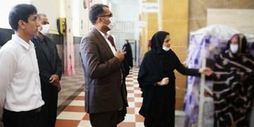 حضور دادستان مرکز هرمزگان در «زندان» بندرعباس/ موافقت با مرخصی پایان حبس ۱۹ نفر از مددجویان