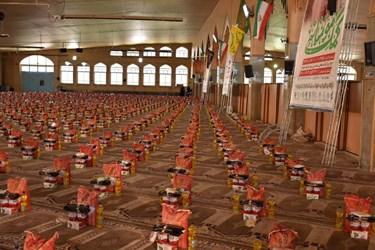 اولین رزمایش کمک مومنانه با 25 هزار بسته معیشتی در کهگیلویه و بویراحمد