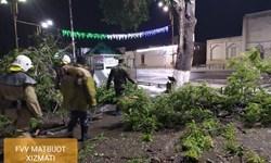 طوفان بخارا یک کشته و 31 مجروح بر جای گذاشت