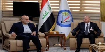 دیدار سفیر ایران با وزیر دادگستری عراق
