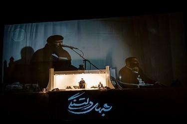 مناجات خوانی حاج سعید حدادیان در مراسم