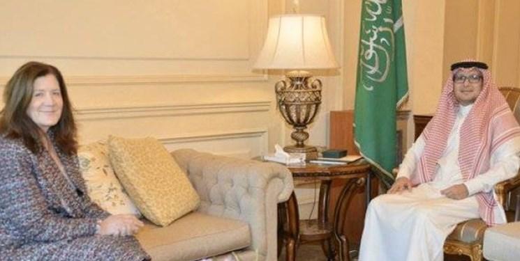 همزمان با تنش در لبنان؛ سفرای عربستان و آمریکا در بیروت با یکدیگر دیدار کردند
