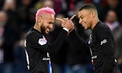 گلچینی از گلهای نیمار با پیراهن پاریس در لیگ قهرمانان