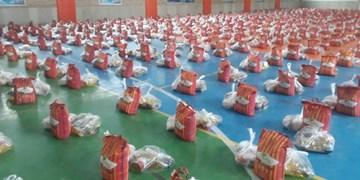 توزیع هزار بسته معیشتی رزمایش مواسات در اسفراین