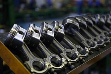پیستون های تولیدی برای موتور دیزل 355 و 457 خودرو های تجاری ایدم /تبریز