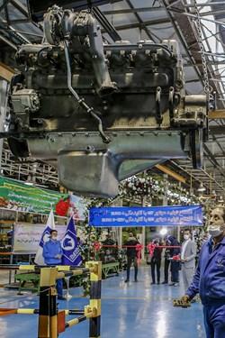 خط تولید موتورهای دیزل 355 و 457 خودرو های تجاری ایدم
