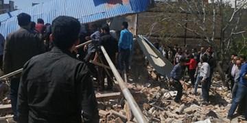 انفجار گاز شهری در سردرود حادثه ساز شد