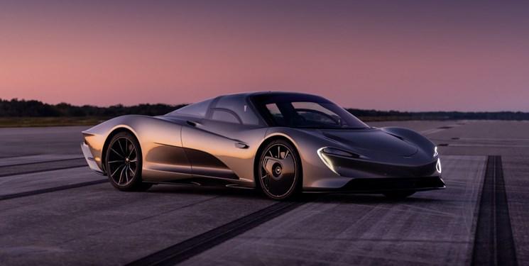 خودروی هیبریدی جدید مک لارن با سرعت 400 کیلومتر در ساعت