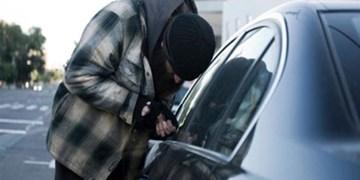 بسته حوادث  باند سرقت درون خودرو متلاشی شد