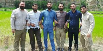 هفت مرد جهادگر از یکخانه آمدهاند