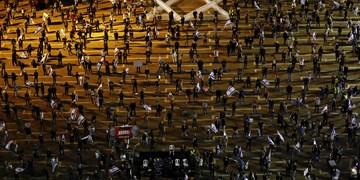 تظاهرات چند هزار نفری در تلآویو علیه طرح اشغال کرانه باختری