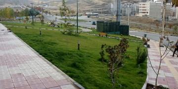 فضای سبز خط چهار حصار با آب شرب آبیاری میشود