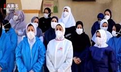 فیلم   ادای احترام ارتشیها به مدافعان سلامت در شوشتر