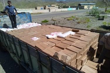 عکس| ارسال 800 سبد غذایی به «بشاگرد»